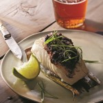 Jerked Cedar Plank Halibut from Chef Paul Rogalski