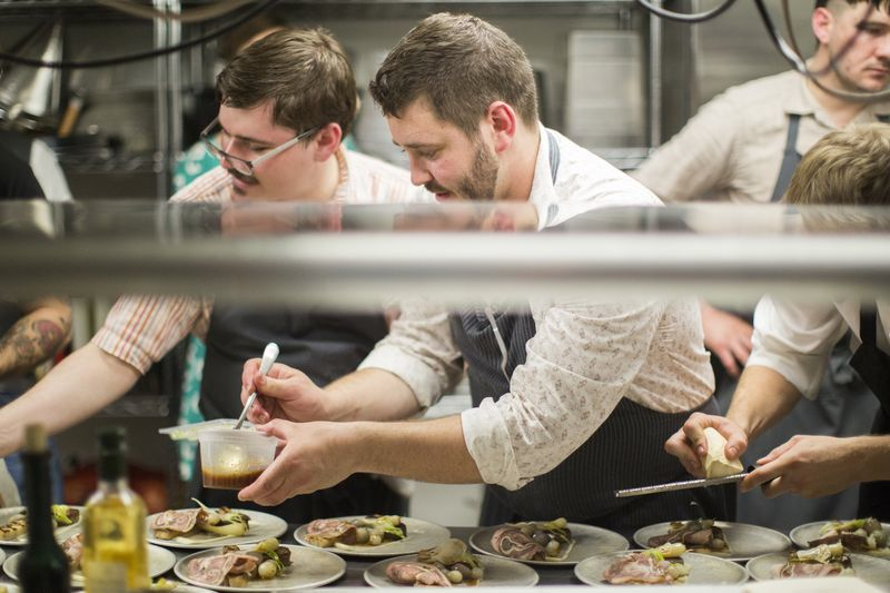 Will Gilson & Jason Stratton Plating Berkshire Hog 3 Ways
